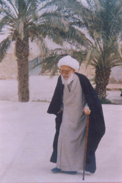 آیت الله حاج میرزا احمد دشتی
